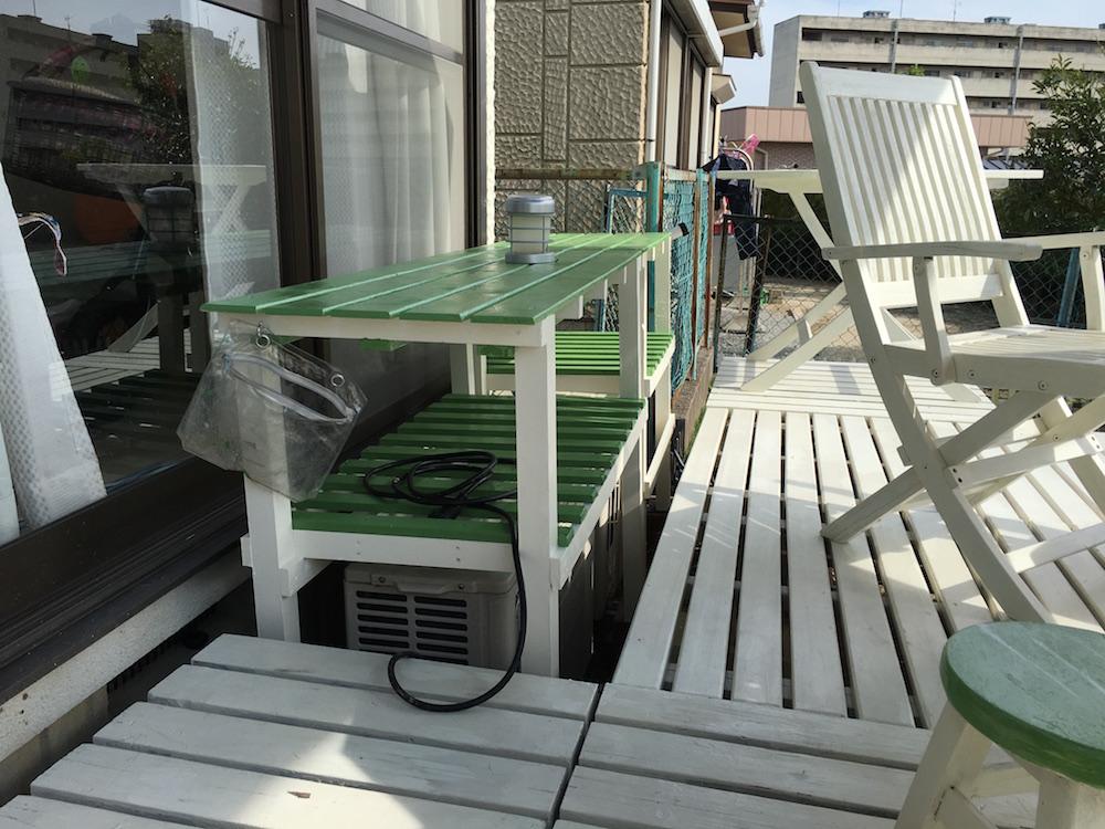庭・緑の台完成
